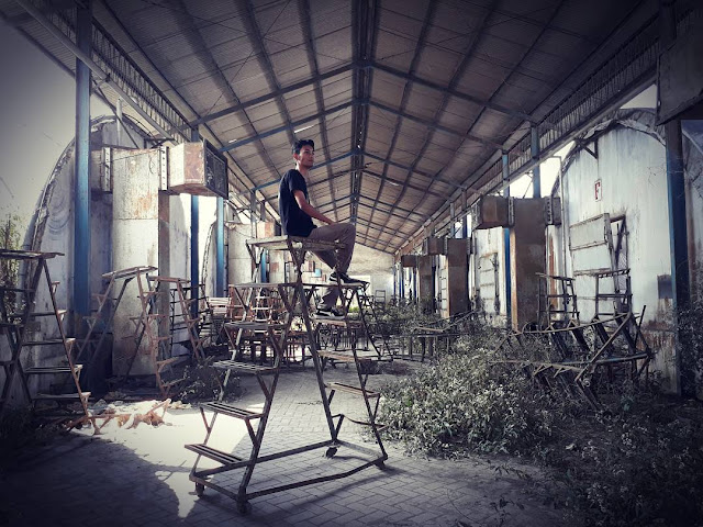 bekas pabrik jamur cangar