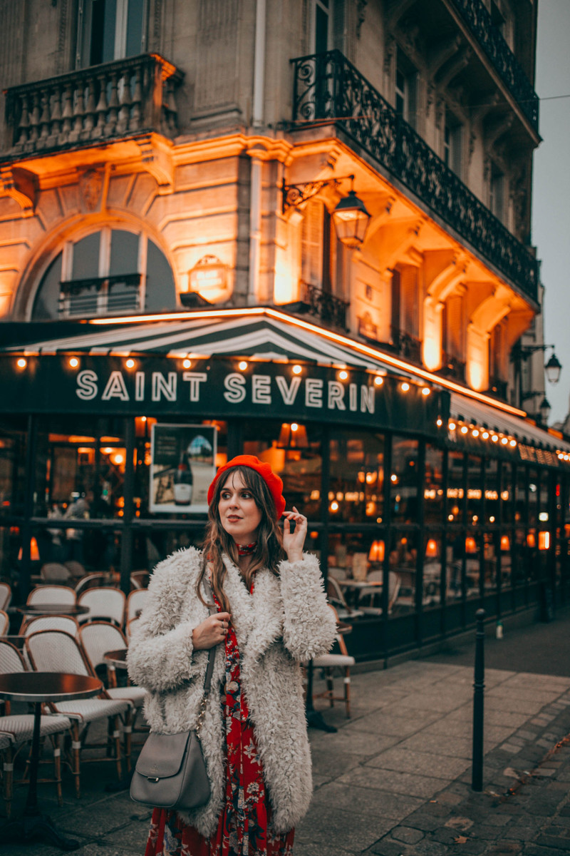 A cloudy evening in Paris
