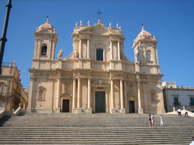Catedral barroca de Noto