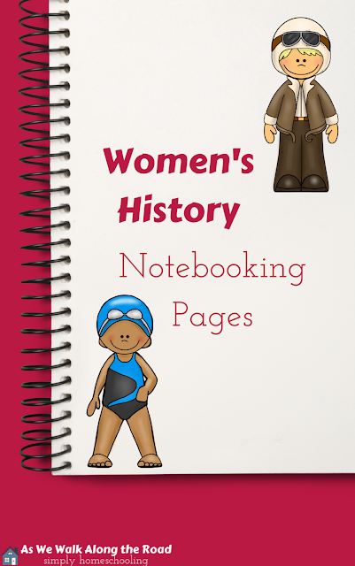 Women's History Notebooking Pages