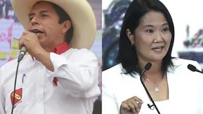 Pedro Castillo se convierte en virtual presidente electo y Keiko Fujimori se resiste a aceptar la derrota