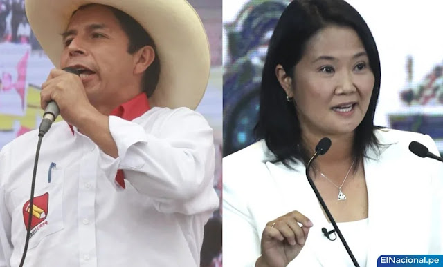 Pedro Castillo vence a Keiko Fujimori