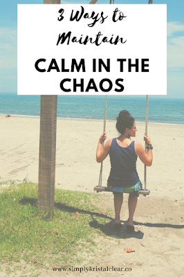 Three Ways to Maintain Calm in the Chaos- This is a personal testimony of  what I am experiencing as a misisonary in Honduras which is going through a humanitarian crisis. Three ways I have learned how to deal with the chaos. Your chaos may be different but it affects us the same. #centralamericaliving #howtomaintaincalminthechaos