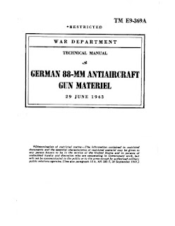 German 88-mm Antiaircraft Gun Material