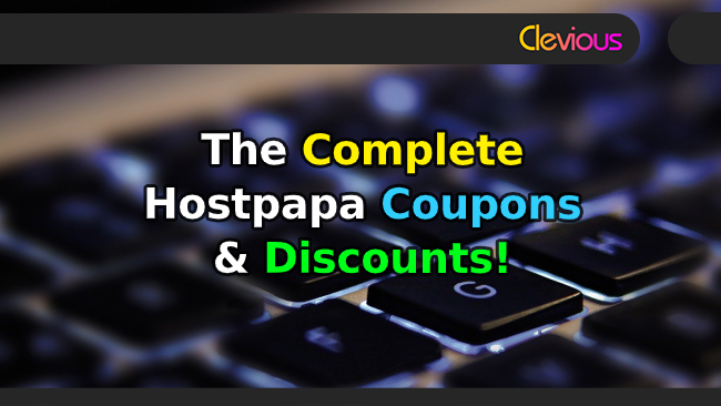 The Complete Hostpapa Coupons & Discounts! - Clevious