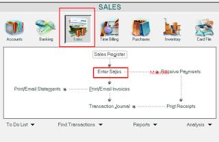 Cara Membuat Jurnal Penjualan Jasa dan barang di Myob