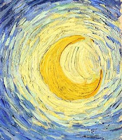 Vincent van Gogh's depiction of Venus as a star in his most famous painting the Starry Night.