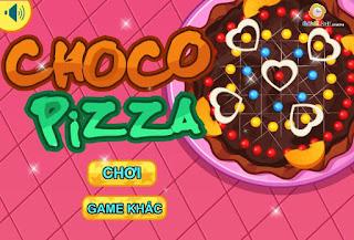 Game làm bánh pizza valentine lãng mạn
