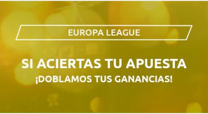 Mondobets Europa League dobla ganancias hasta 8-8-2020