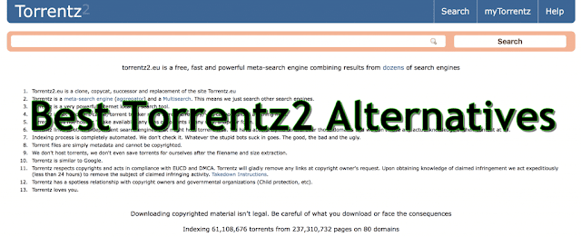 Torrentz2eu  and Alternatives Of Torrentz2eu