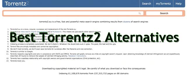 Alternatives Of Torrentz2eu