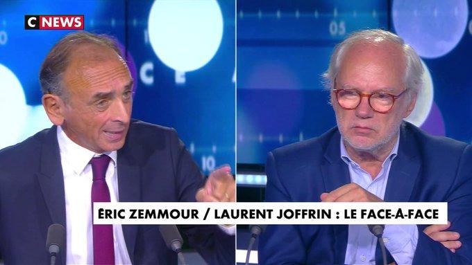 """VIDÉO :  Éric Zemmour : """"La France est en danger de mort face au Grand remplacement...!"""""""