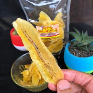 keripik pisang Aca Kumala