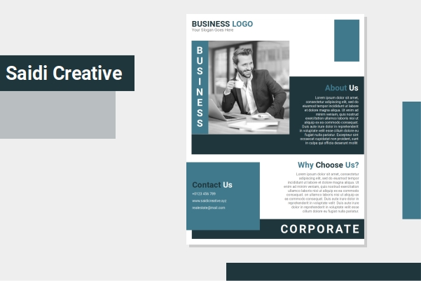 Free Download Corporate Business Flyer Template Microsoft Word Document Fully Editable