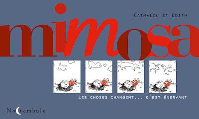 """couveture de """"MIMOSA"""" de Catmalou et Edith chez Soleil"""