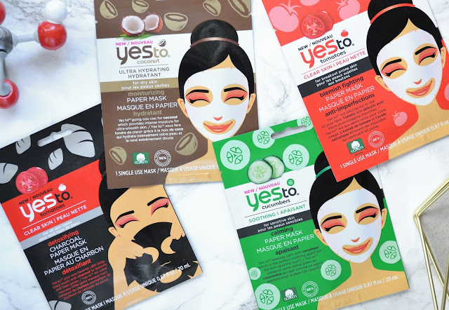 Yes To Coconut Paper Sheet Mask Review