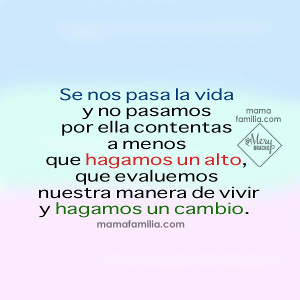 Frases para una mamá agotada, cansada, exhausta con los hijos, la familia, soy mamá que debo cuidarse a mi misma como mujer, madre, reflexión por Mery Bracho.
