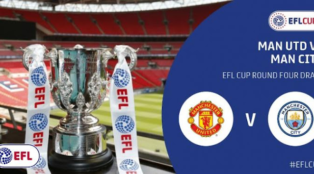 Piala Liga Inggris: Manchester United vs Manchester City, Liverpool vs Tottenham babak 16 besar