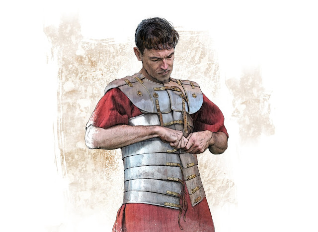 Armour of Roman legionary unearthed in Germany