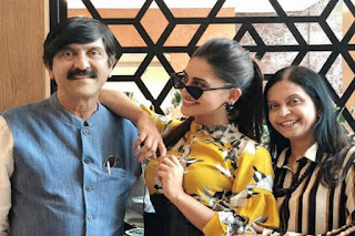 Krystle D'Souza Family Photo, Krystle D'Souza father and mother