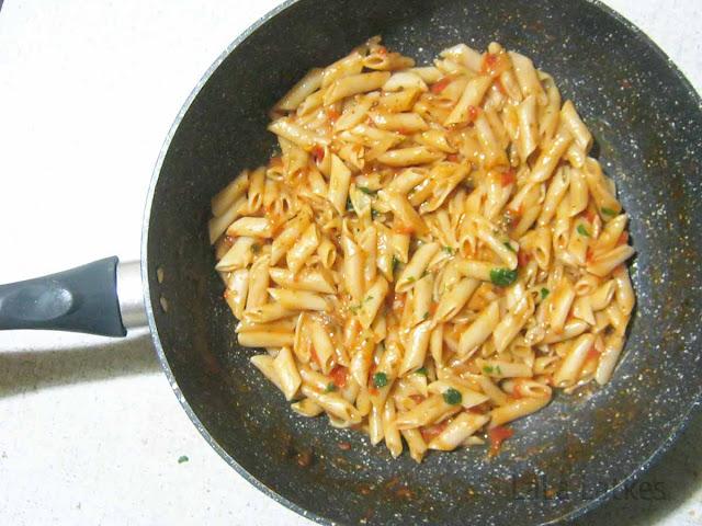 паста в одной сковороде рецепт