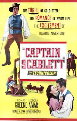 Póster película Capitán Scarlett