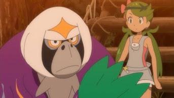 Pokemon Sol y Luna Capitulo 39 Temporada 20 La Fugitiva Mallow, Lulú Y El Oranguru