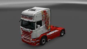 Sport Lisboa e Benfica Skin for Scania RJL