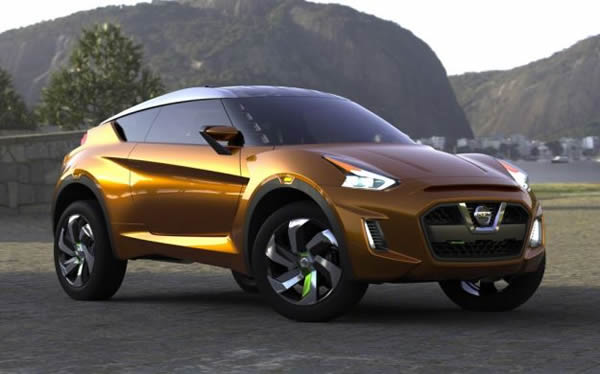 The Foundation For Extreme Concept Is Nissan S V Platform Also To Be Found With Cur Models Of Micra Due Flexibility This