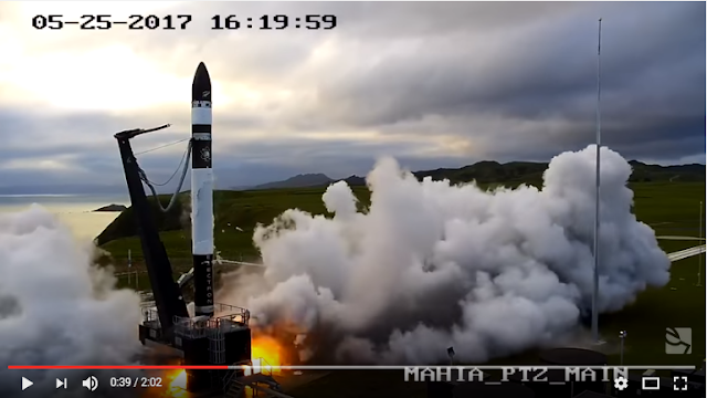 The Commercial Space Blog: Rocket Lab Launches