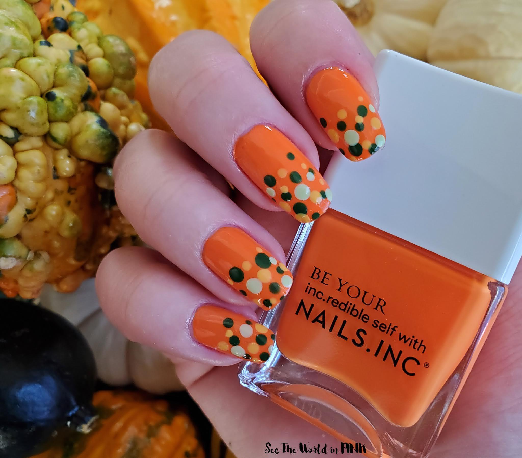 Manicure Monday - Fall Dotticure Nails