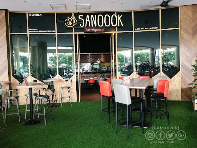 Sanoook Thai-Japanese Restaurant Sunway Piramid