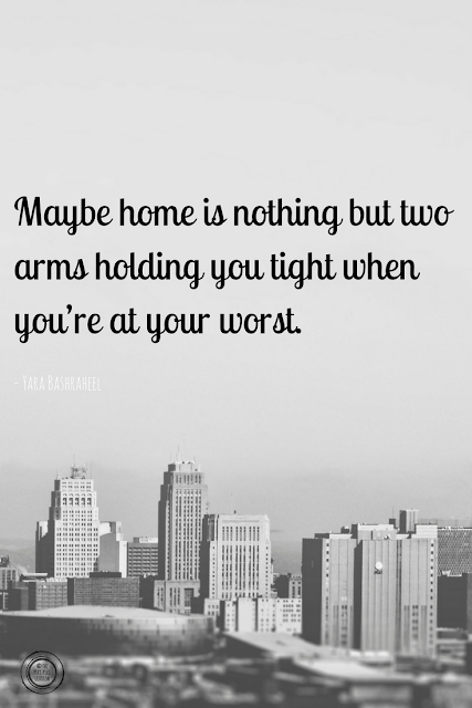 Home is nothing but two arms