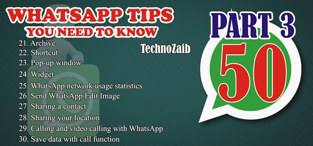 50 indispensable whatsapp tips you need to know PART 3