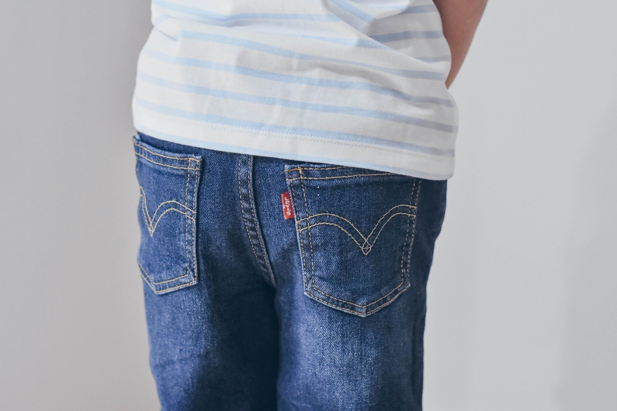 jeans levis bambina