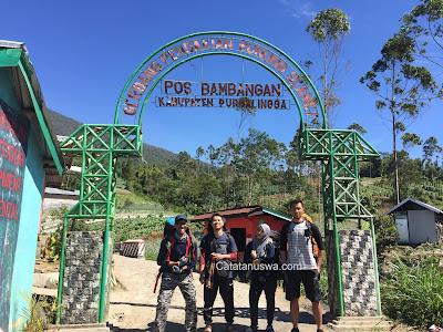 Gunung Slamet, Mendaki Gunung Tertinggi di Jawa Tengah