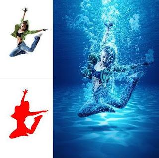 Tạo Hiệu Ứng Dưới Nước Với Submerged Action Trong Photoshop