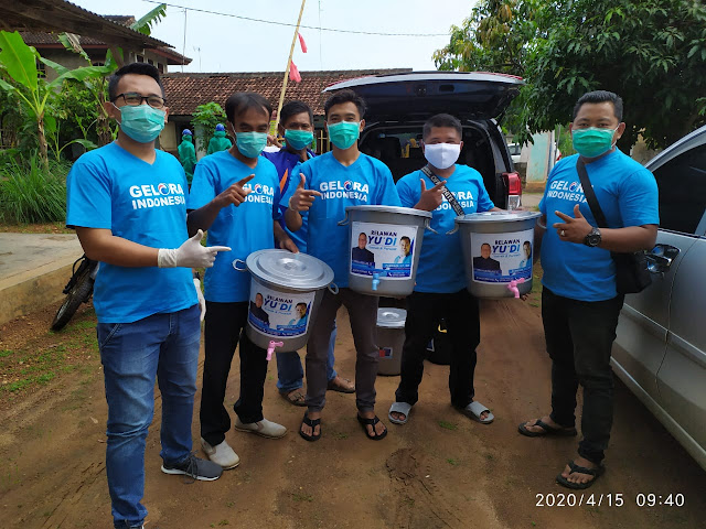 Aksi Sosial Yusron - Purwadi Lawan Covid 19