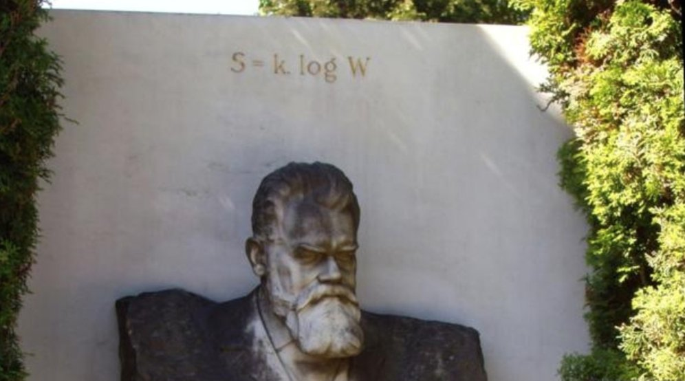 ludwig boltzmann equation tombstone