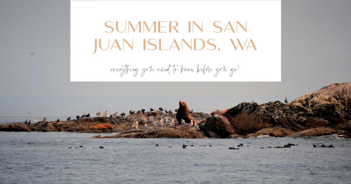summer san juan islands, wa