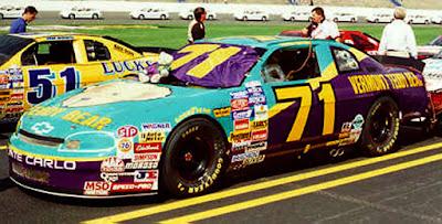 Kevin Lepage #71 Teddy Bear Racing Champions 1/64 NASCAR diecast blog BGN 1995