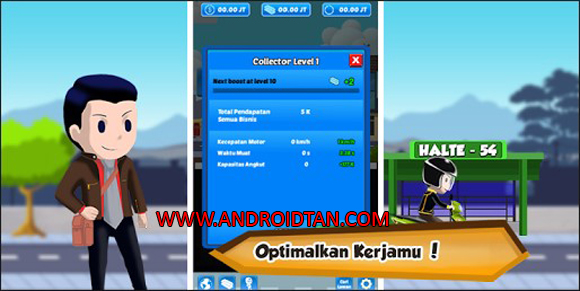 Download Juragan Ojek Mod Apk v1.3.9.8 Unlimited Coins/Money Android Terbaru