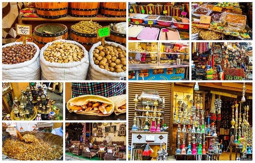 Bazar Khan-el-Khalili no Cairo Velho - Diário de Bordo: 2 dias no Cairo