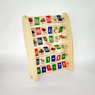 Alfabet Berdiri Inggris Mainan Kayuku Agdia Toys