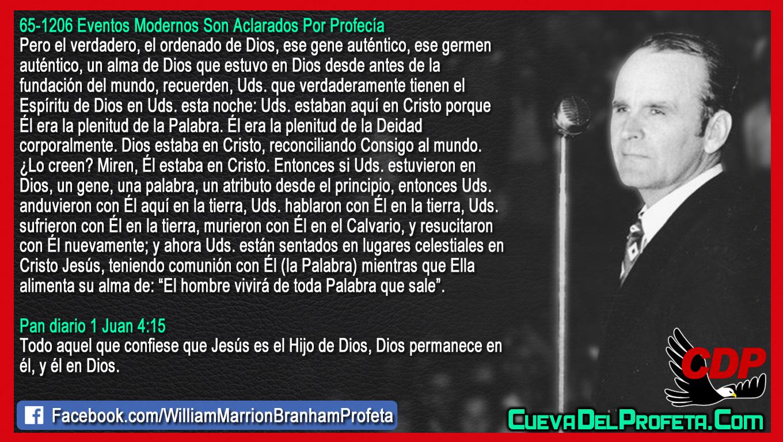 El ordenado de Dios ese gen auténtico - William Branham en Español