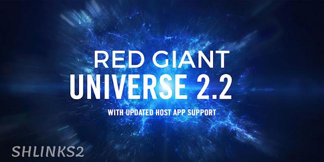 تحميل مجانى حزمة Red Giant Universe 2.2 Plugins Pack