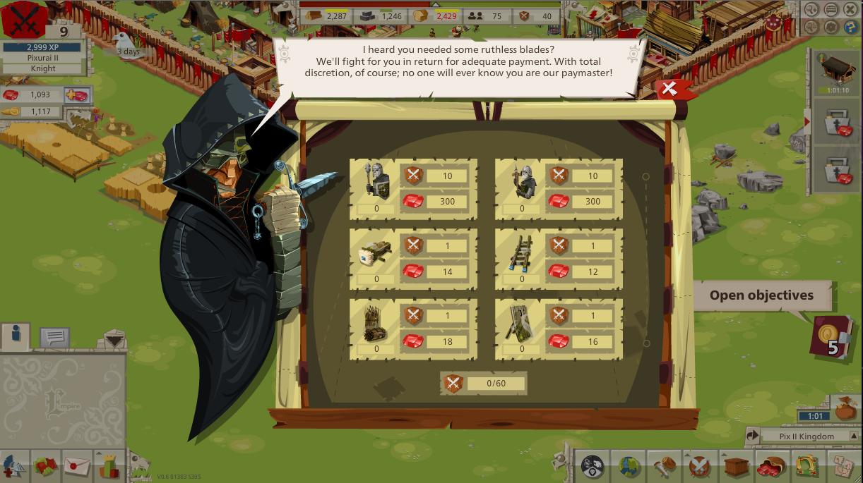 Pixurai Ii Goodgame Empire Blog Shadow Mercenaries