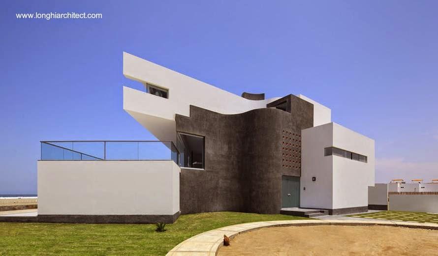 Casa vanguardista en Asia, Perú
