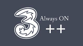 3 logo always on
