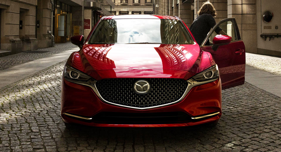 Refreshed 2018 Mazda6 Gets 250 HP Turbo Engine and New Interior